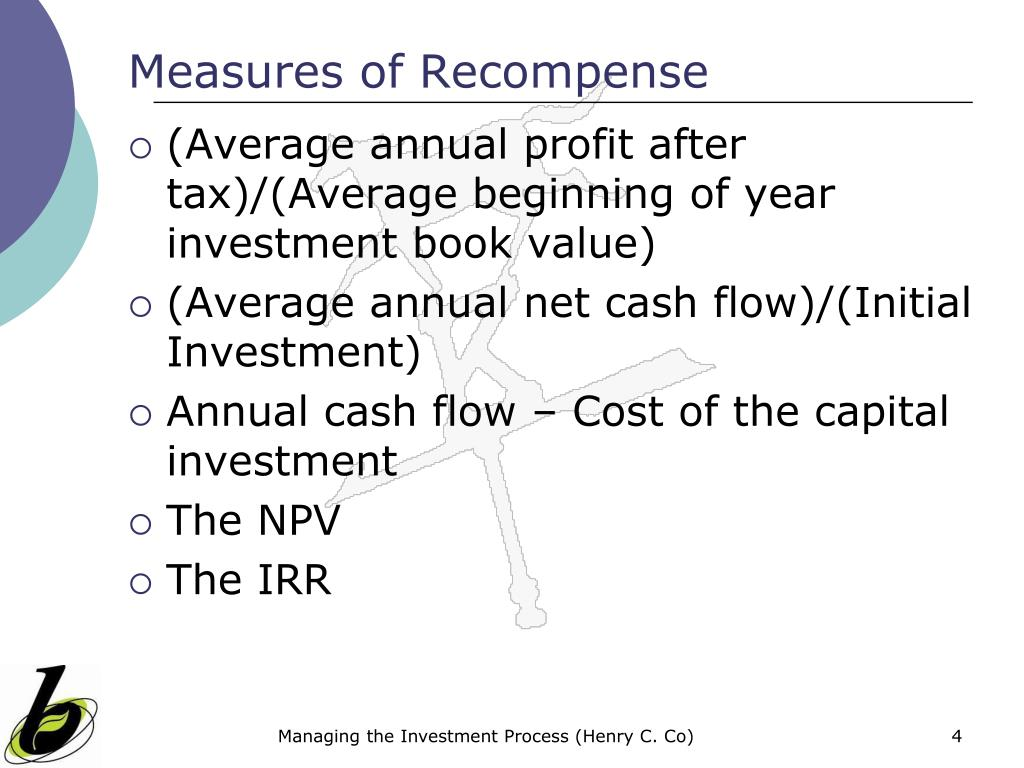 Measures of Recompense