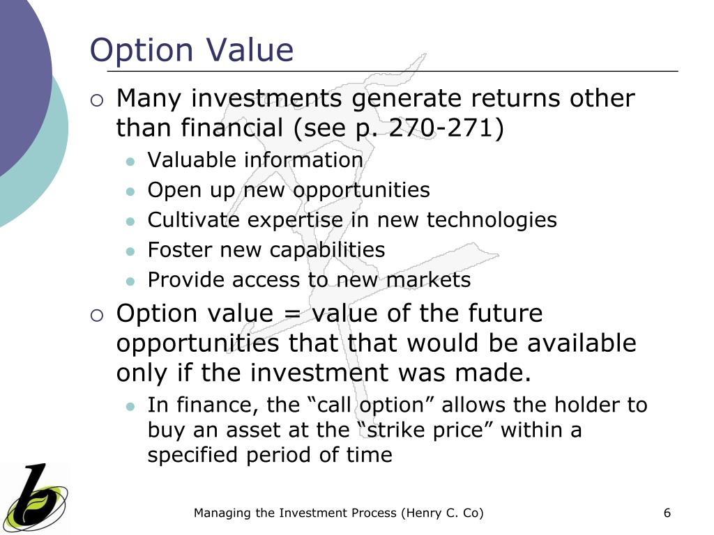 Option Value