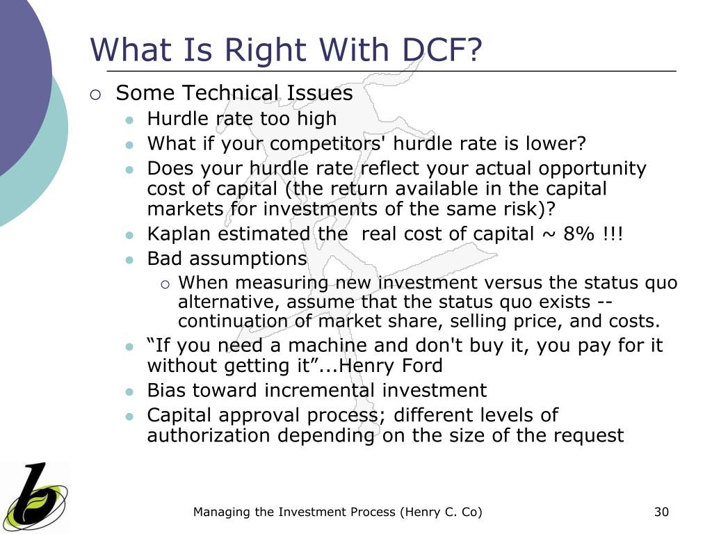 What Is Right With DCF?