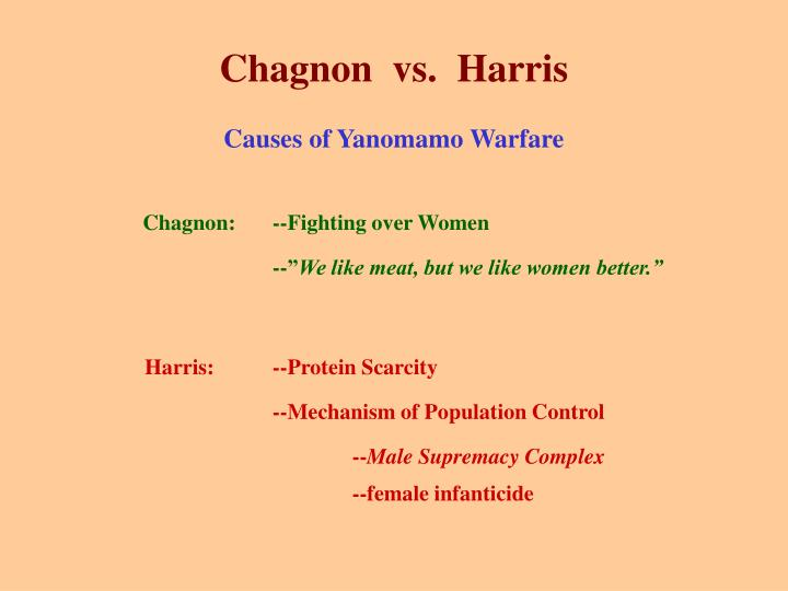 Chagnon  vs.  Harris