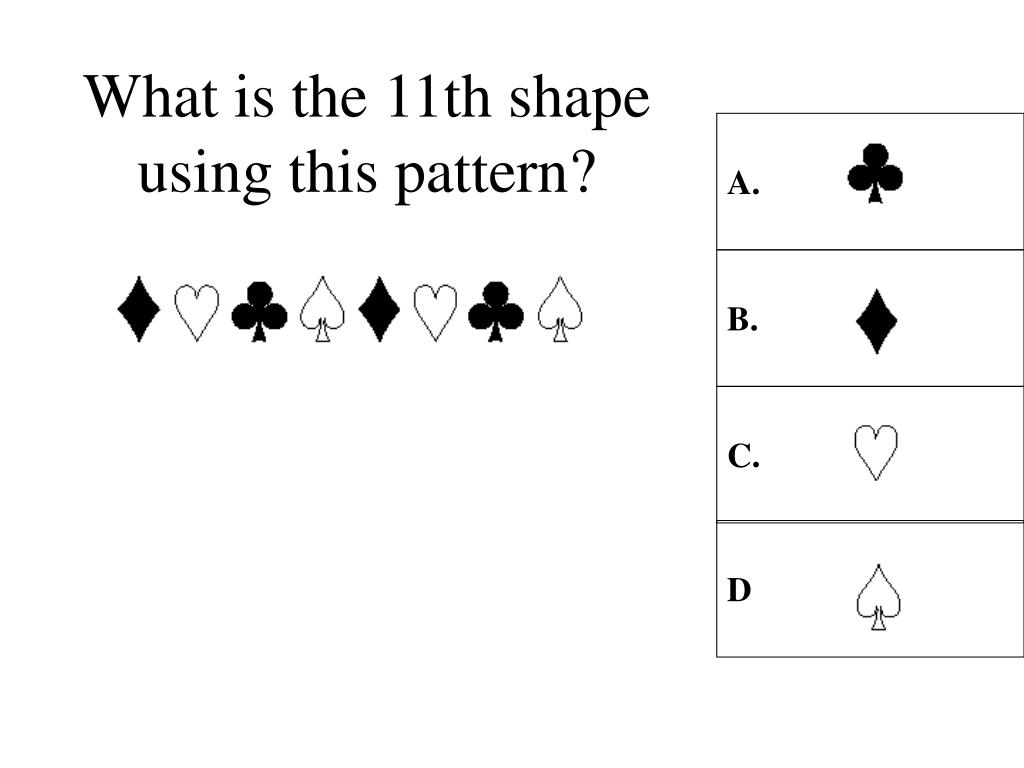 What is the 11th shape using this pattern?