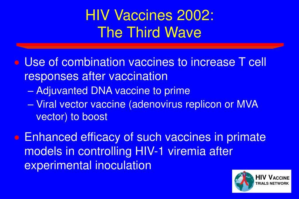 HIV Vaccines 2002:
