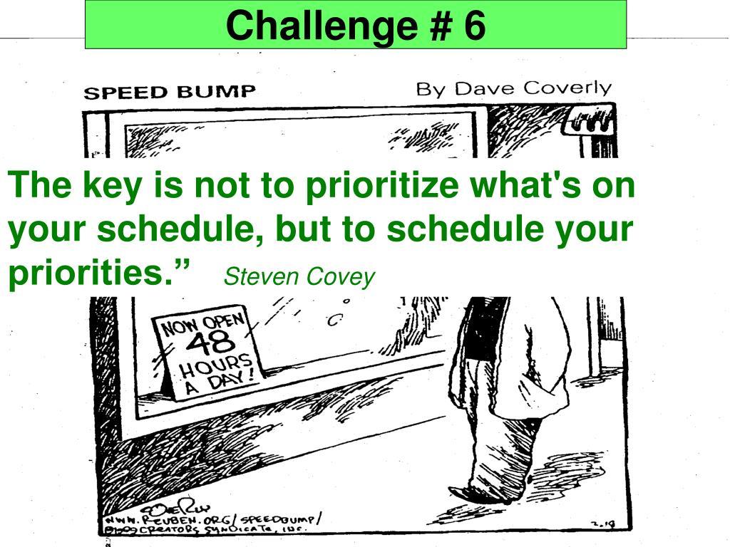 Challenge # 6