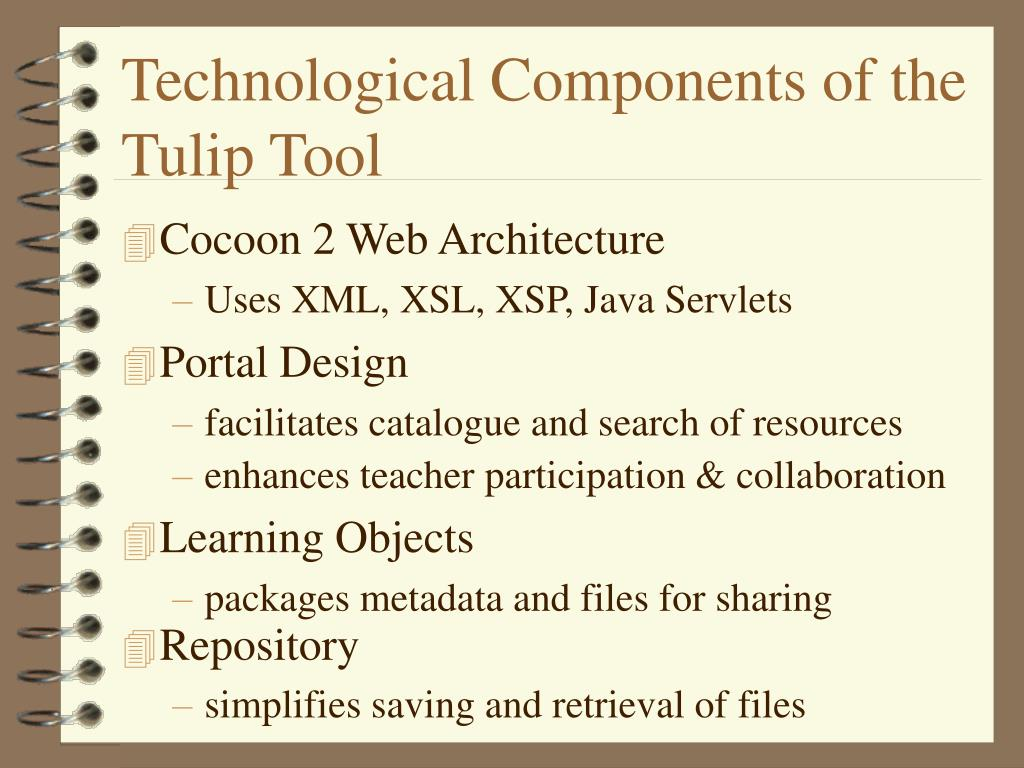Technological Components of the  Tulip Tool