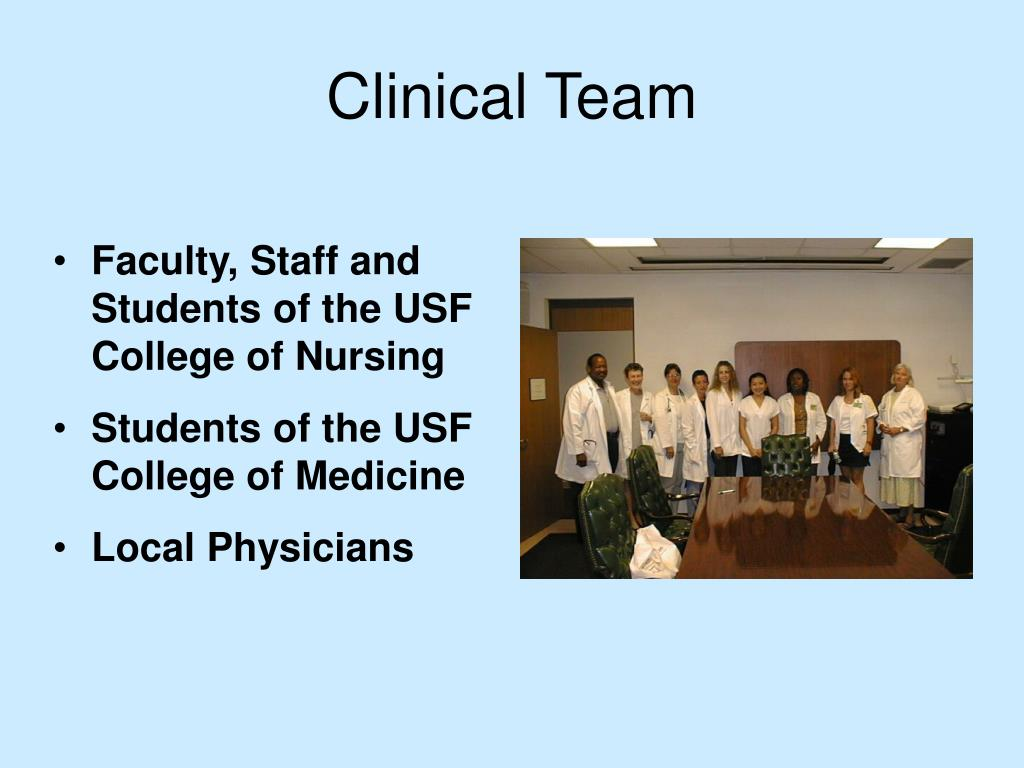 Clinical Team