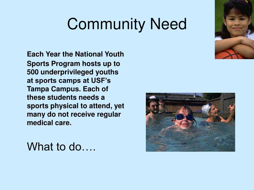 Community Need