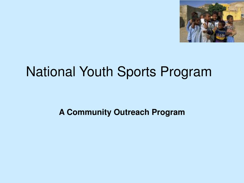National Youth Sports Program