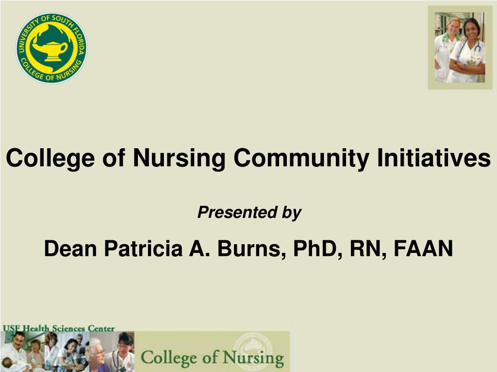 College of Nursing Community Initiatives