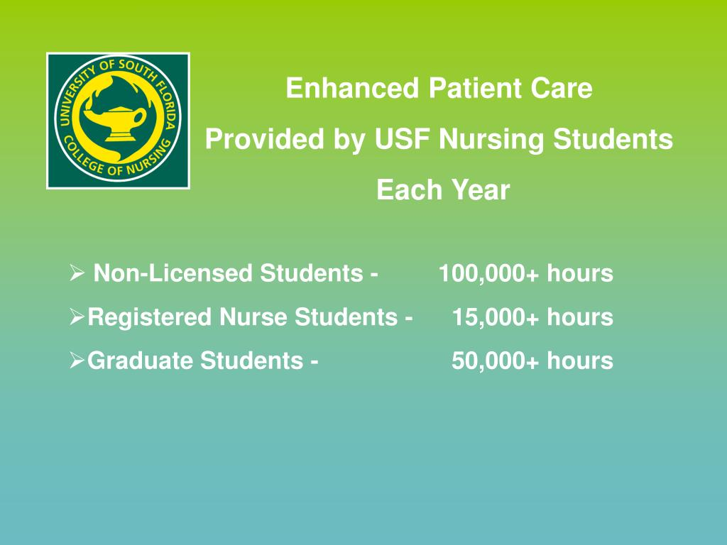 Enhanced Patient Care