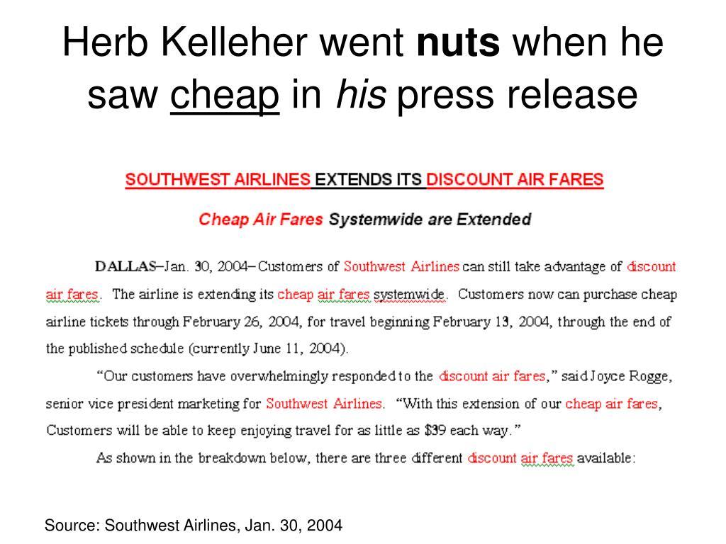 Herb Kelleher went