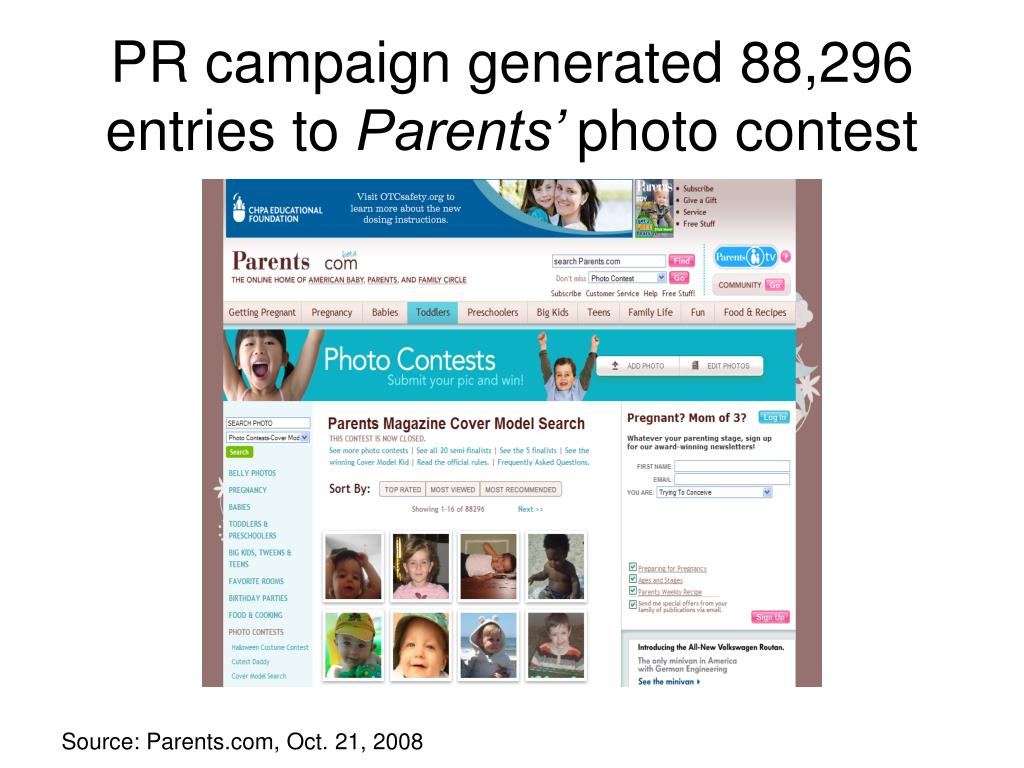 PR campaign generated 88,296 entries to