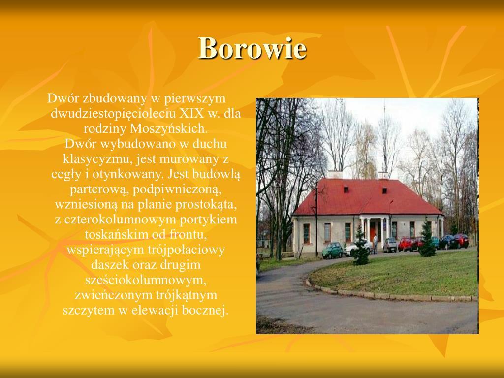 Borowie