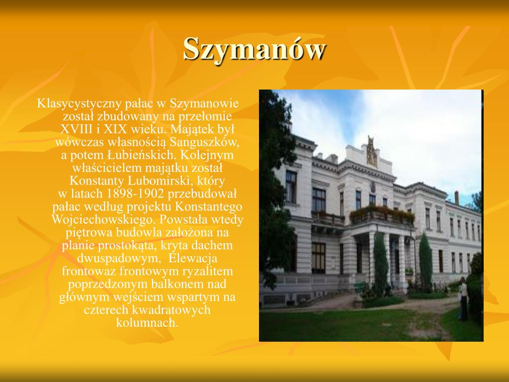 Szymanów