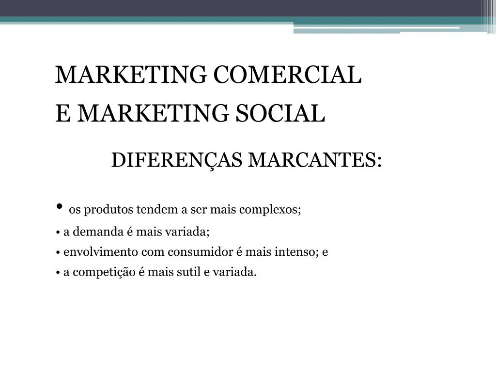 MARKETING COMERCIAL