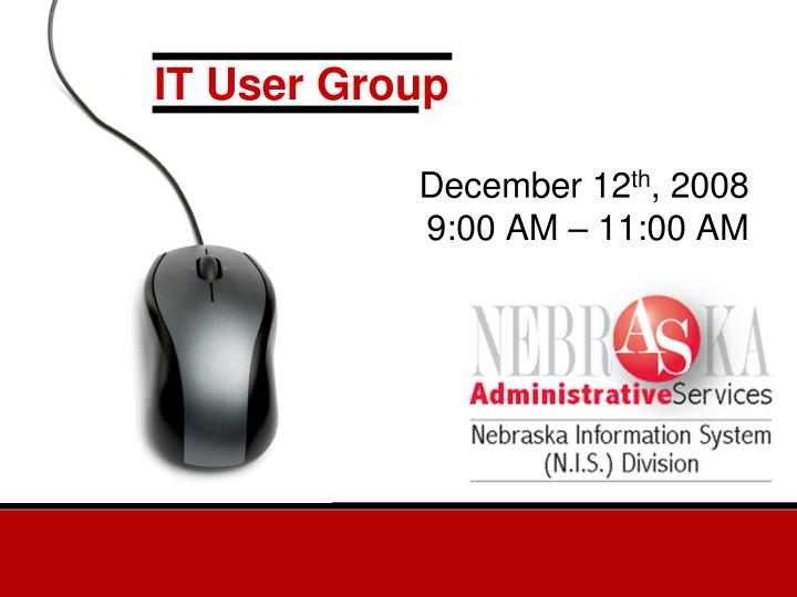 It user group l.jpg