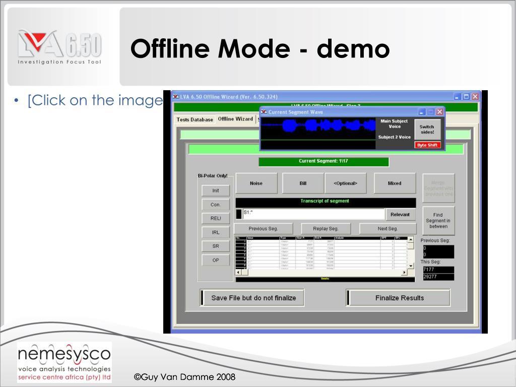 Offline Mode - demo