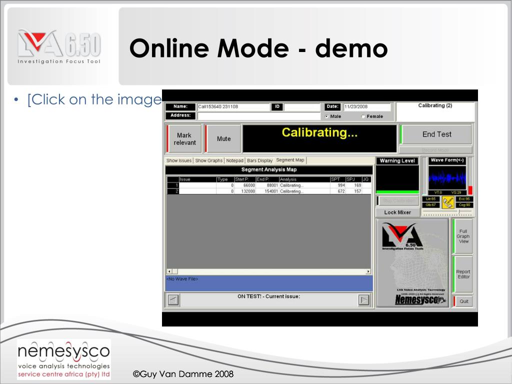 Online Mode - demo
