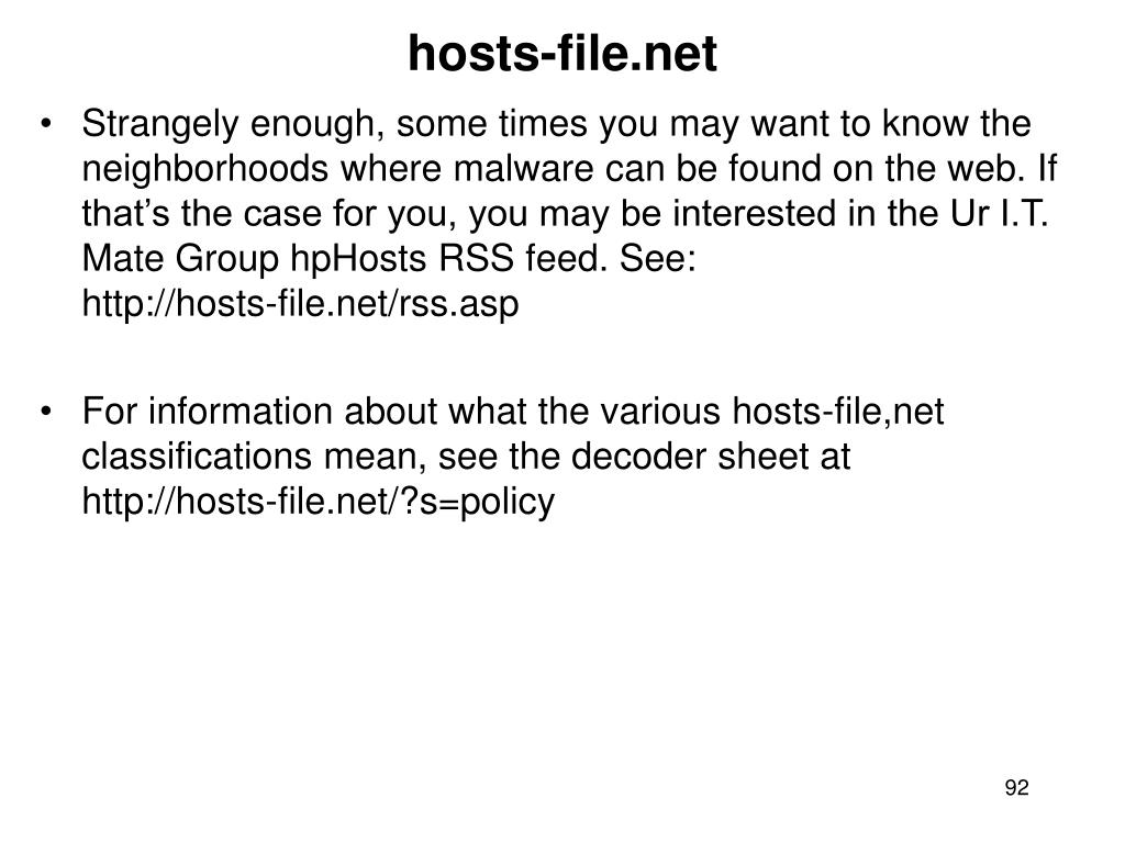 hosts-file.net
