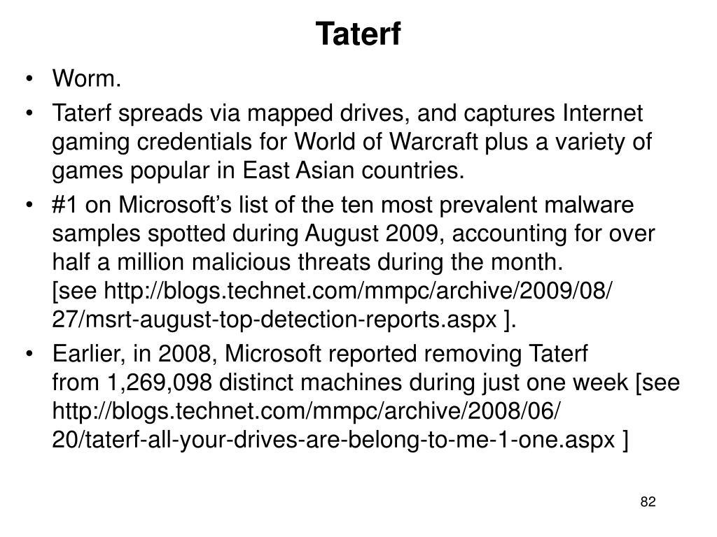Taterf
