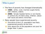 who is poor