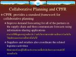 collaborative planning and cpfr18