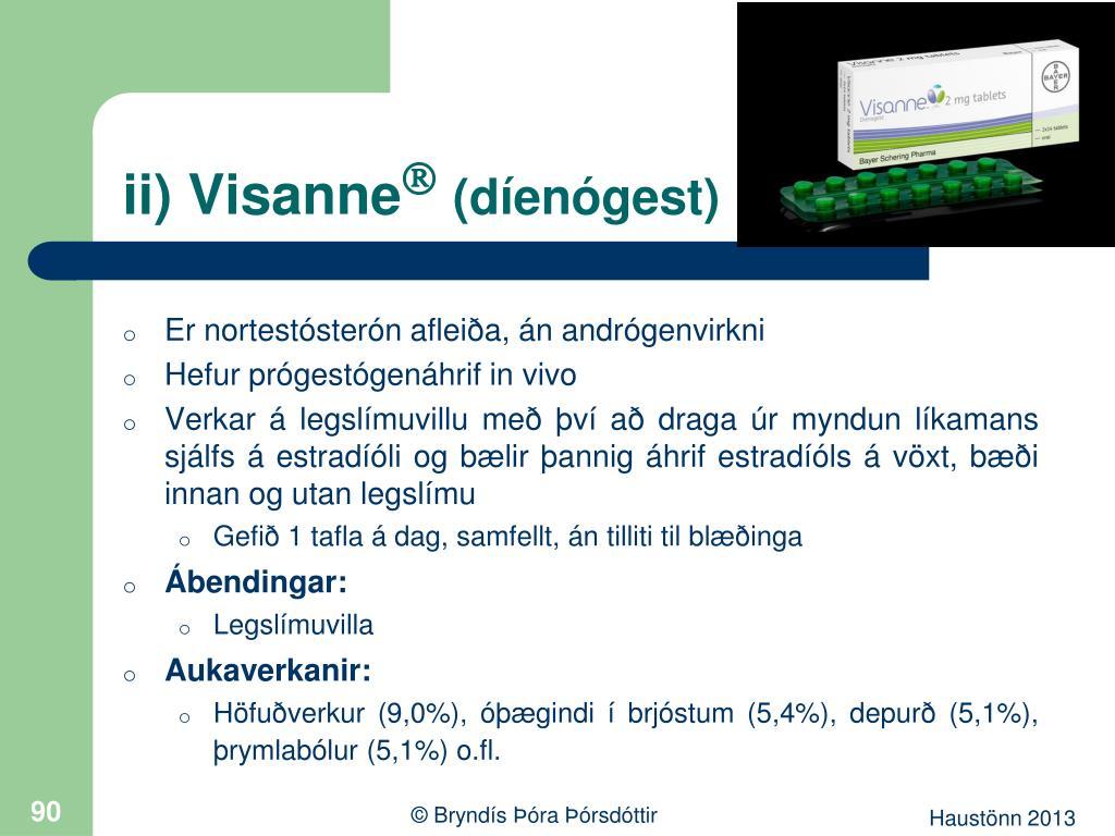 ii) Visanne