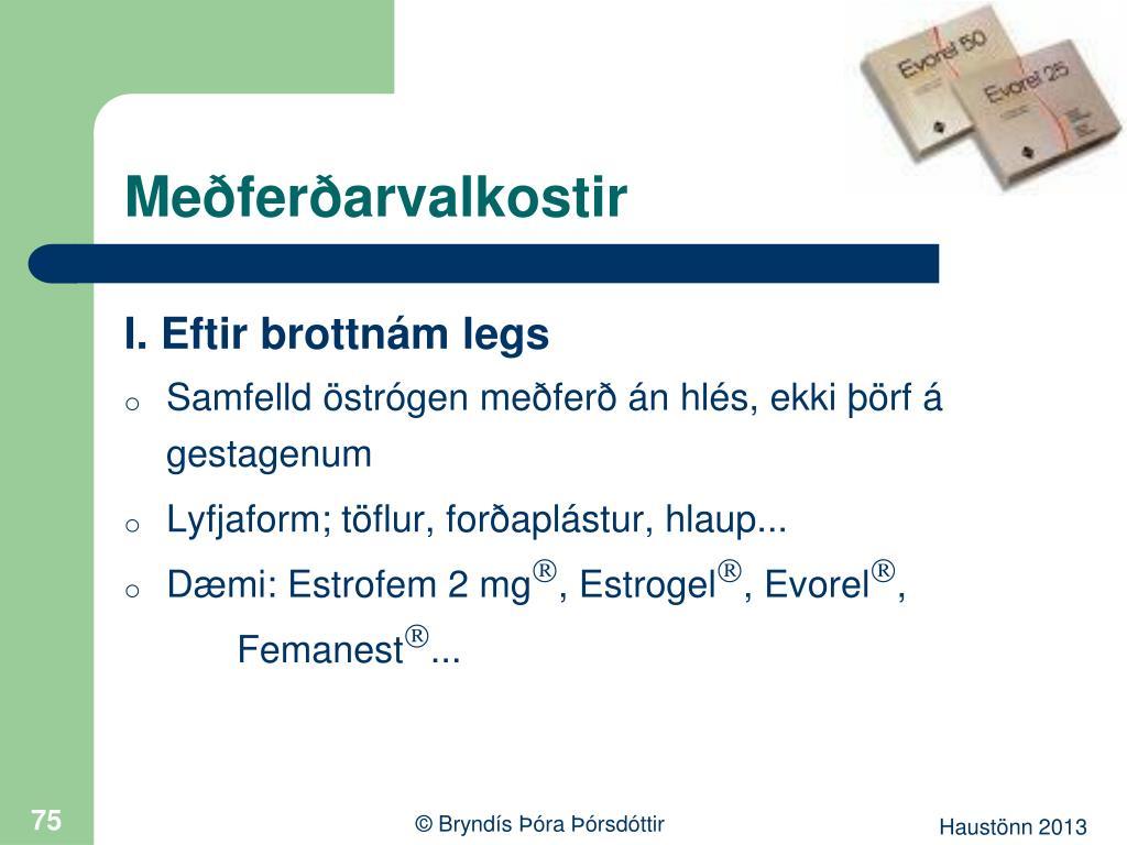Meðferðarvalkostir