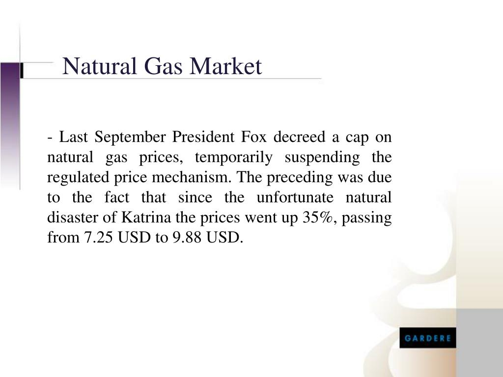 Natural Gas Market