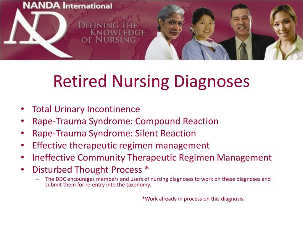 Retired Nursing Diagnoses