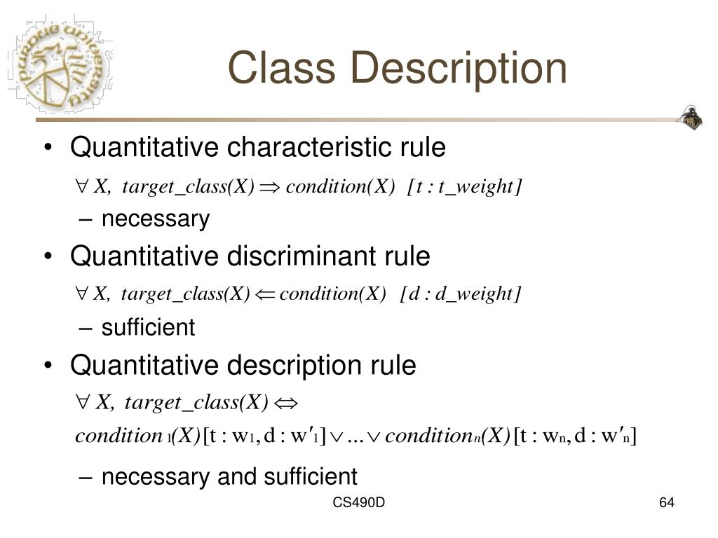 Class Description