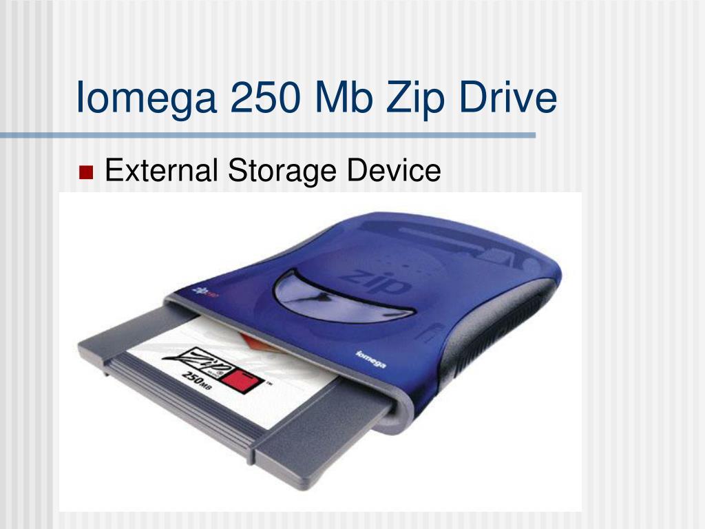 Iomega 250 Mb Zip Drive
