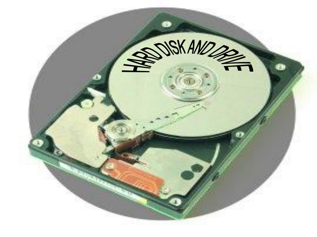 HARD DISK AND DRIVE