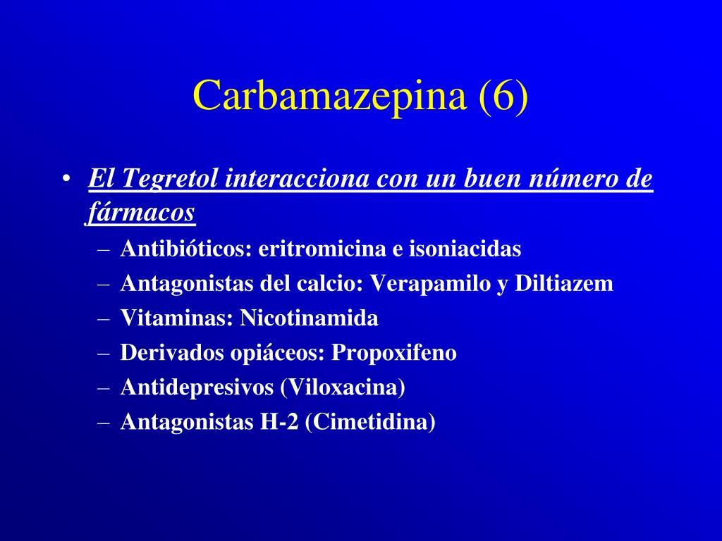 Carbamazepina (6)