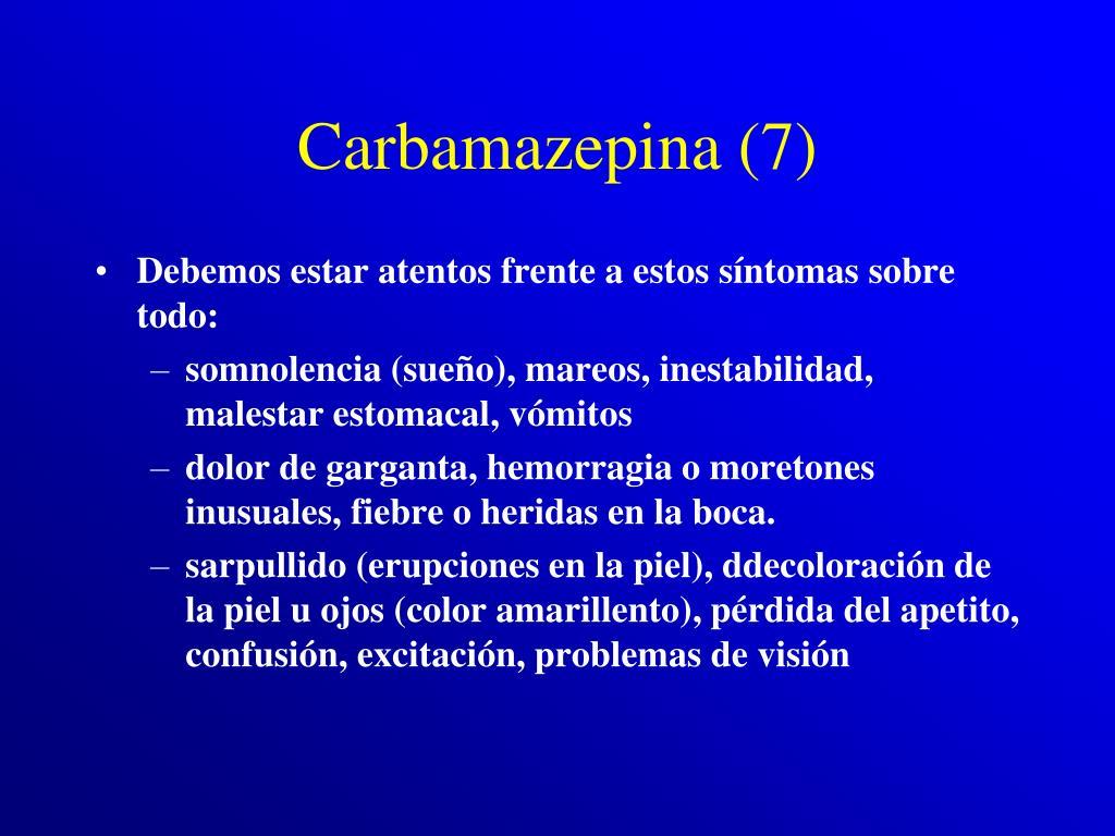 Carbamazepina (7)