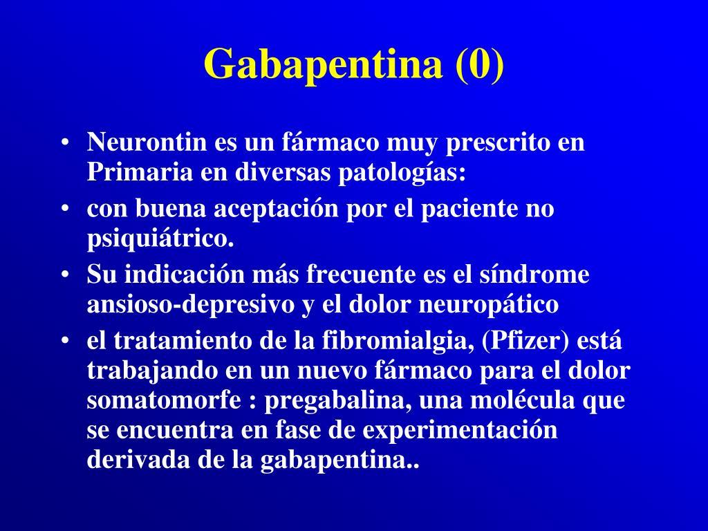 Gabapentina (0)