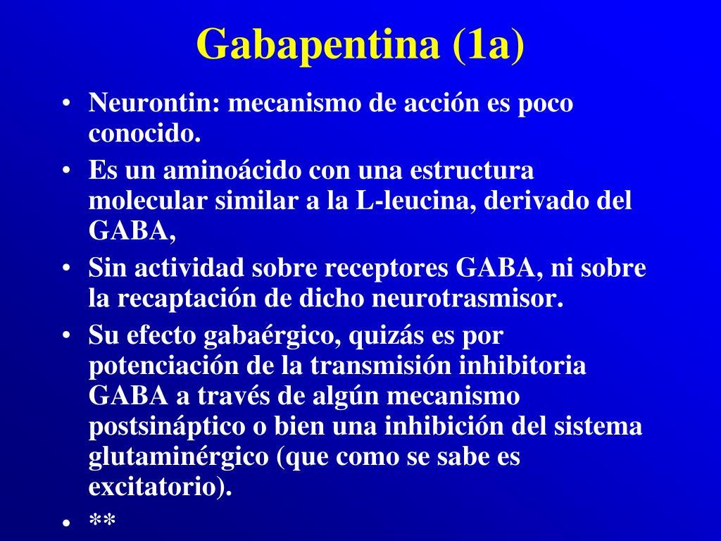 Gabapentina (1a)