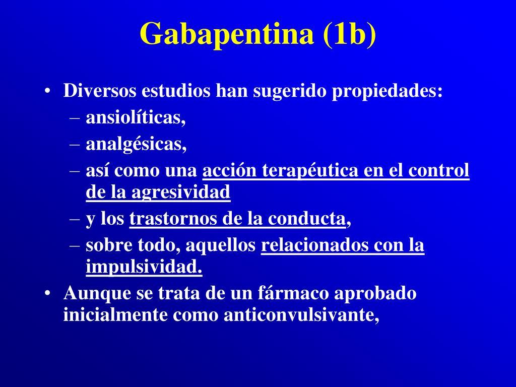Gabapentina (1b)
