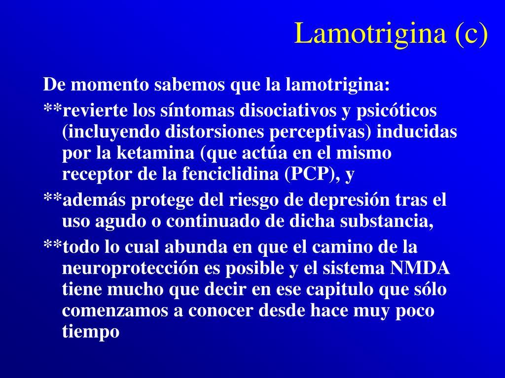 Lamotrigina (c)