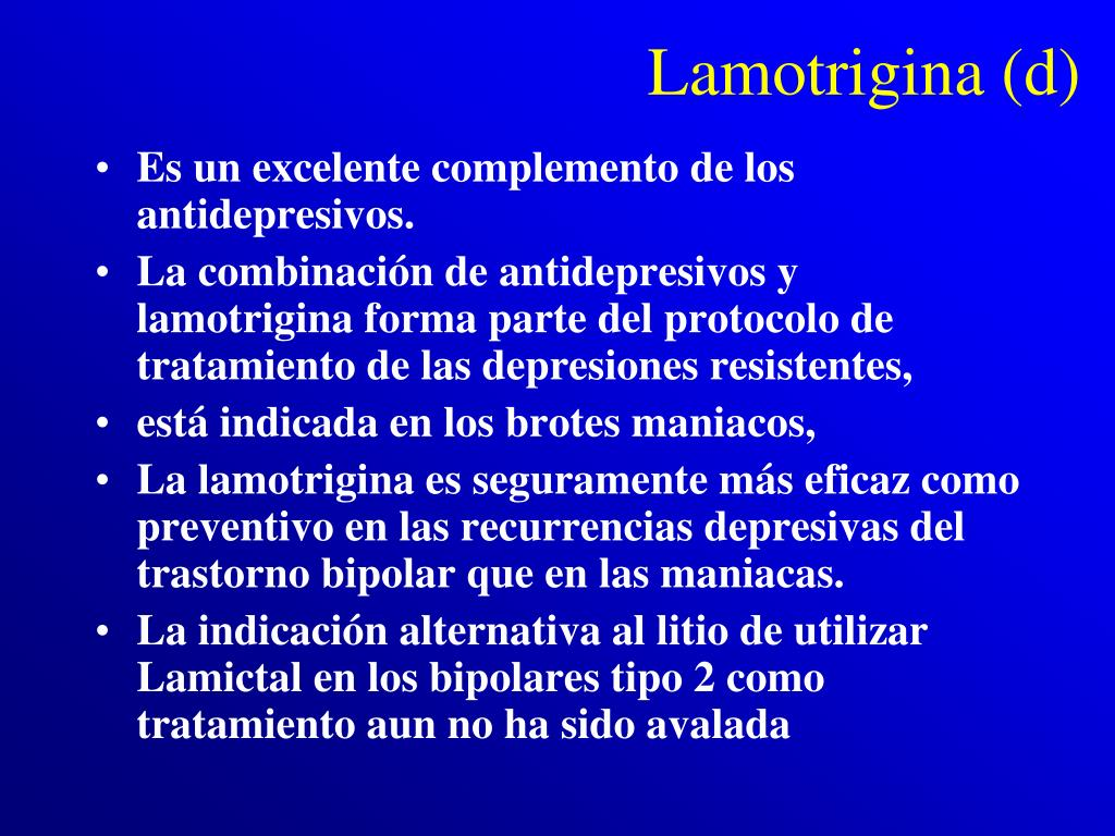 Lamotrigina (d)
