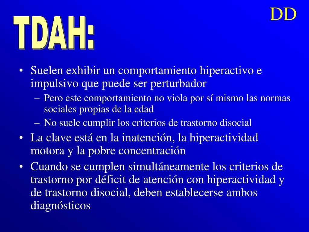 TDAH: