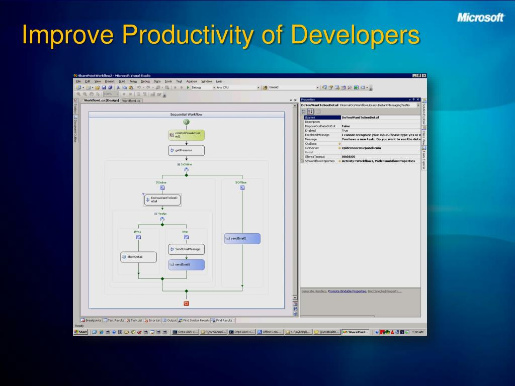 Improve Productivity of Developers