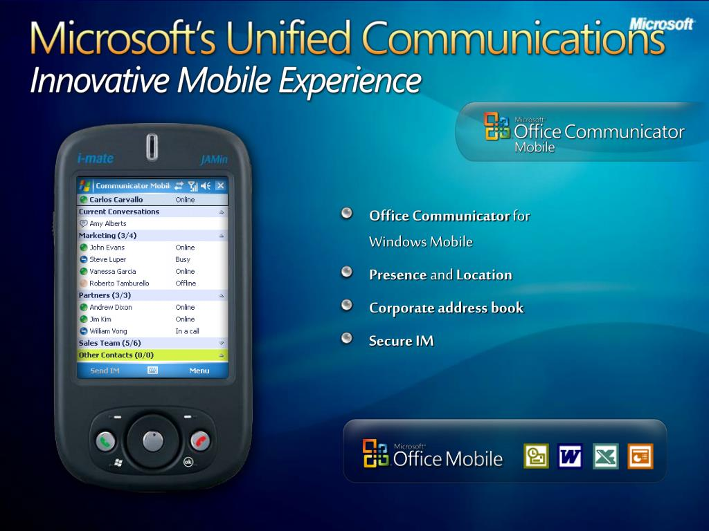 Microsoft's Unified Communications