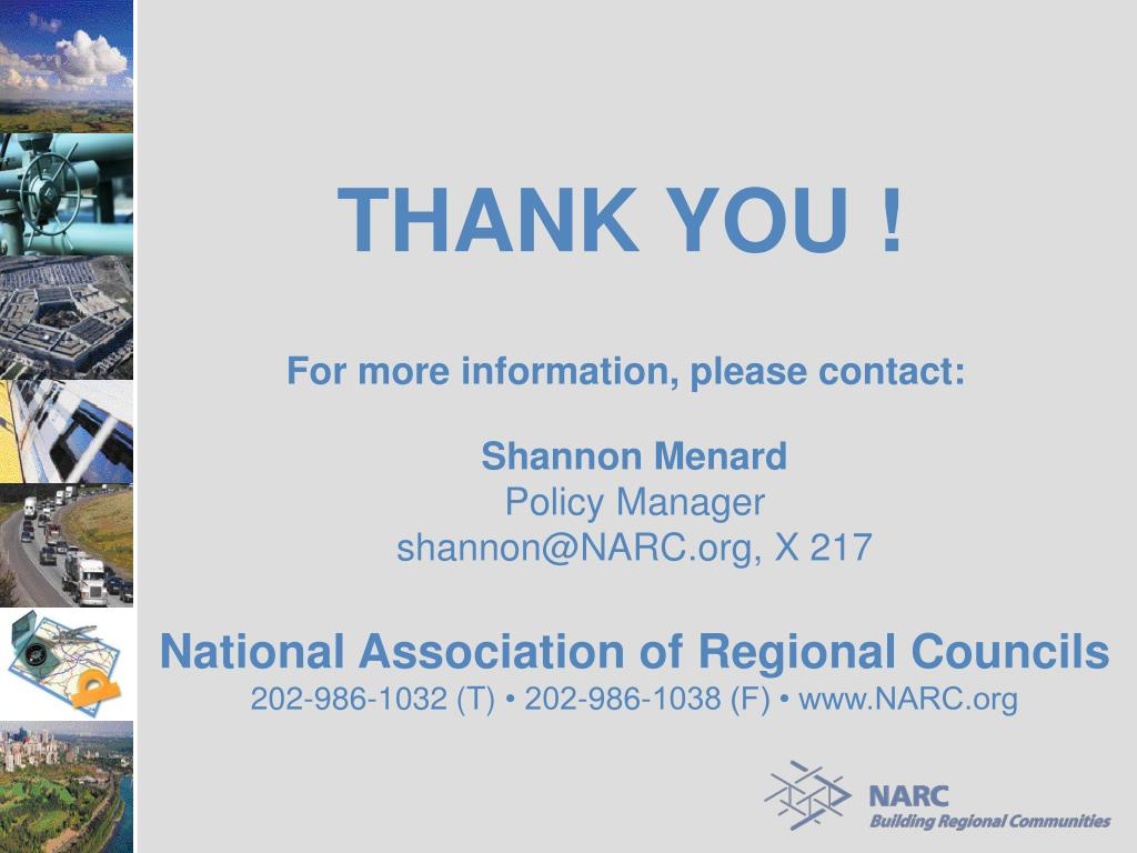 National Association of Regional Councils