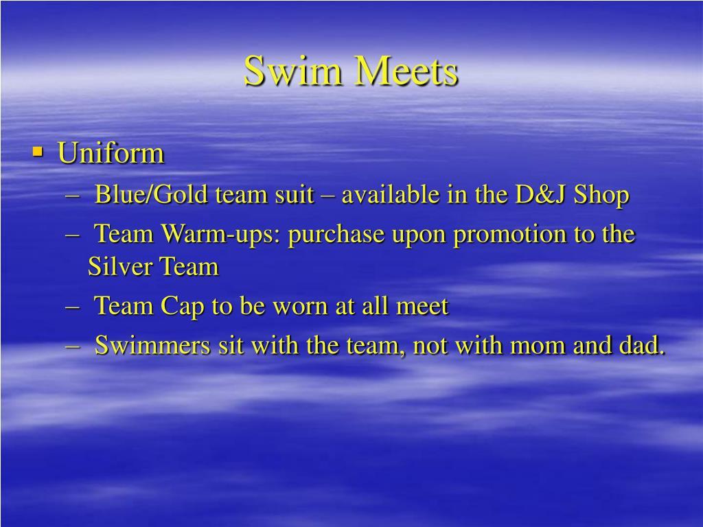 Swim Meets