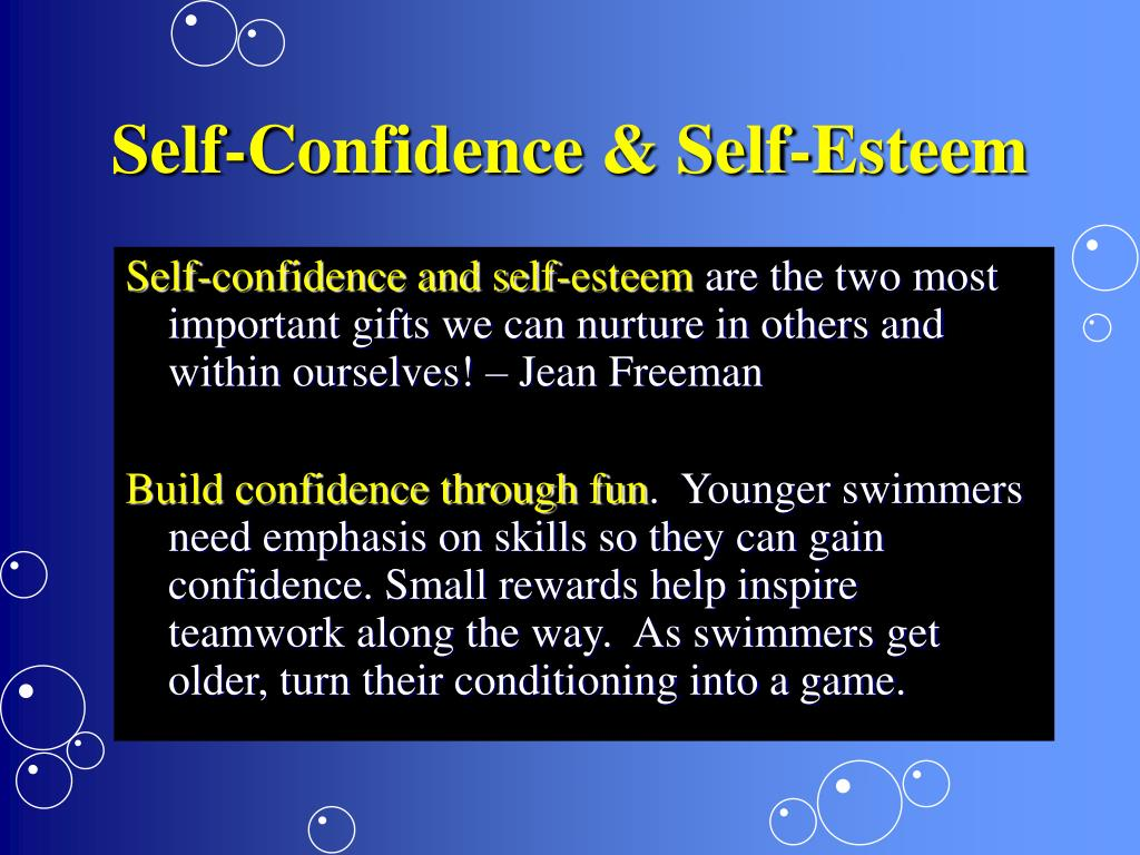 Self-Confidence & Self-Esteem