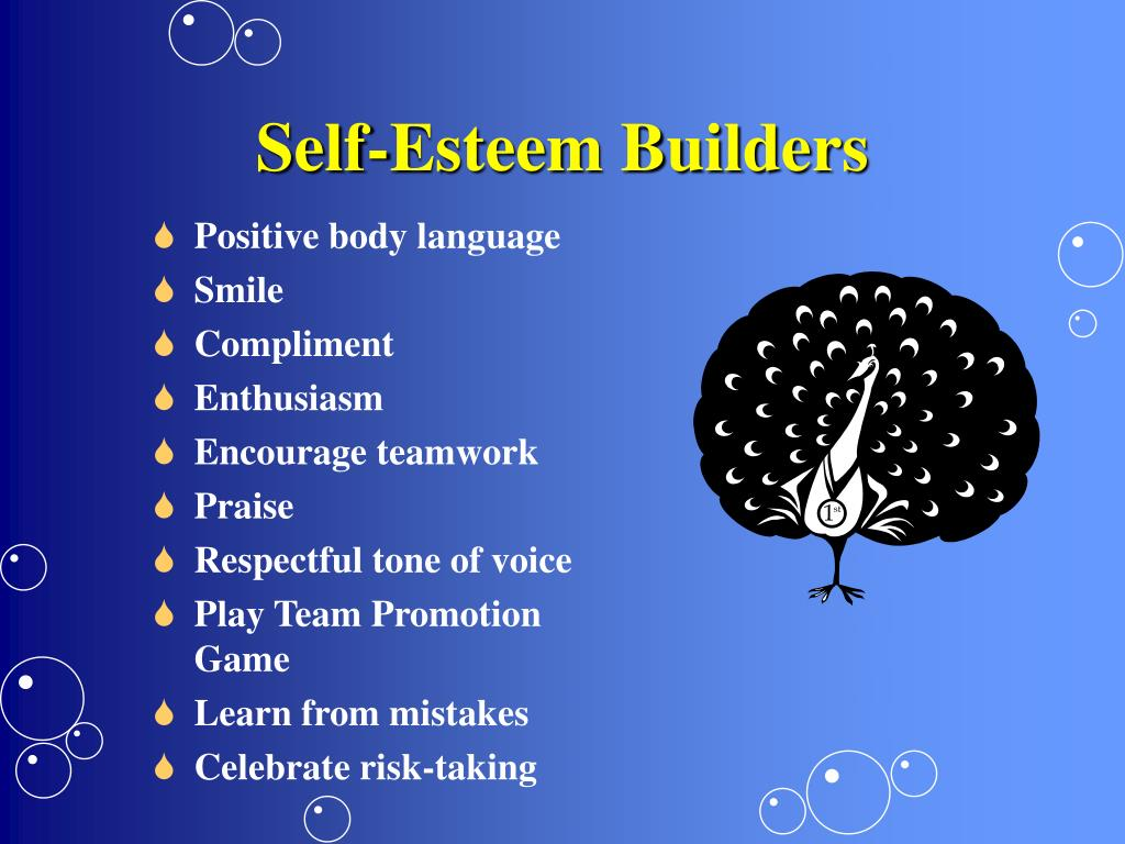 Self-Esteem Builders