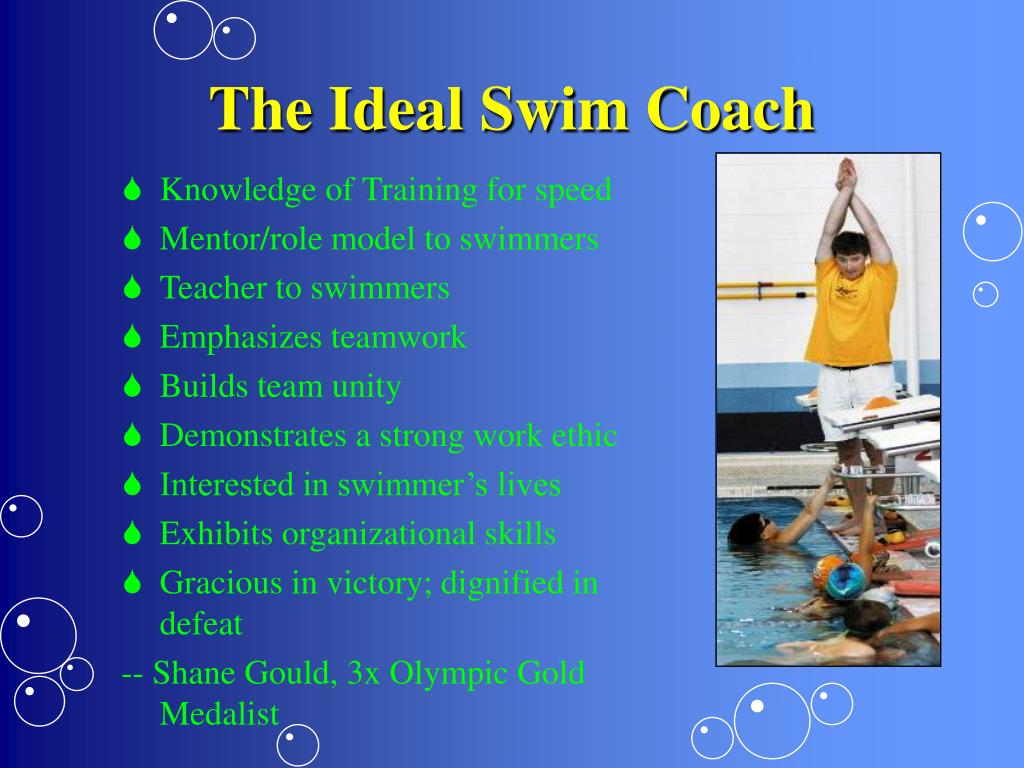 The Ideal Swim Coach