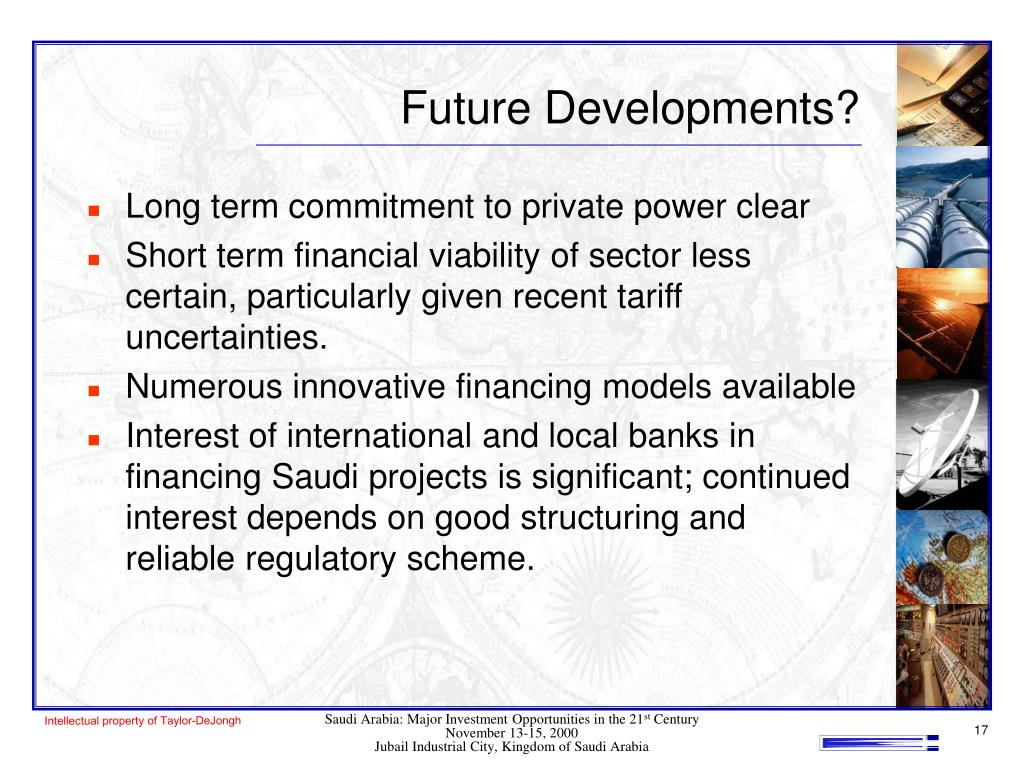Future Developments?