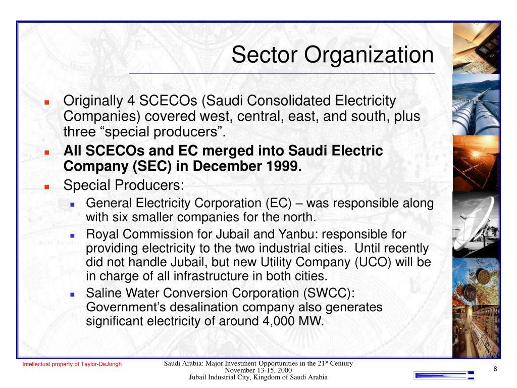 Sector Organization