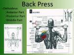 back press
